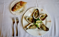 oysters & bread
